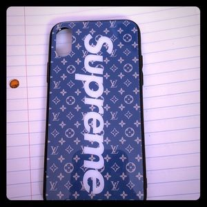 A supreme phone case dupe